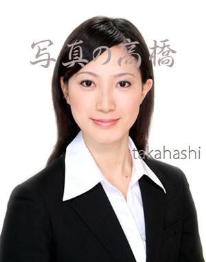 就活写真 髪型 ロング女性