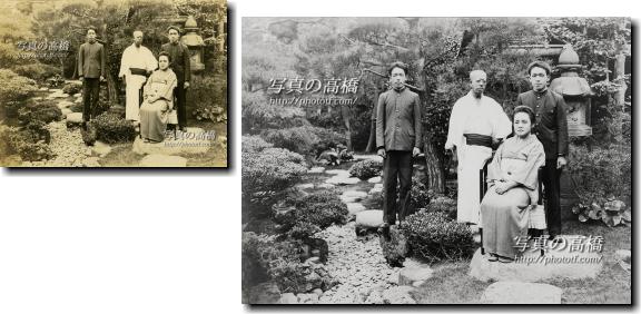 写真修復は江戸川区写真館、古写真再生復元は東京の写真館,写真の高橋